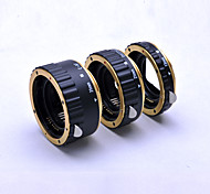 goldenen Metall-Autofokus AF-Macro Extension Tube / Ring für Canon EOS Kenko EF-S-Objektiv