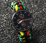 Outdoor Sports Watch Simple Round Hand-Woven Watches Students Watch