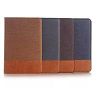 Para Funda Samsung Galaxy Soporte de Coche / Cartera / con Soporte / Flip Funda Cuerpo Entero Funda Un Color Textil Samsung Tab A 9.7