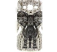 éléphant modèle TPU matériau de téléphone pour Samsung Galaxy J5 / galaxie j7