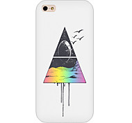 Triangle  Pattern Phone Back Case Cover for iPhone5C