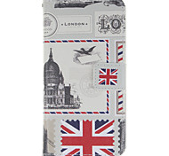 London Stamp Design PU Leather Full Body Protective Case with Stand Wiko Wax