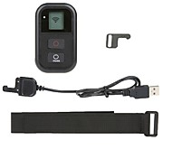 Wireless WIFI Smart Remote Control Set for Gopro Hero 3/3+/4 with USB Charging Cable + Wrist Strap
