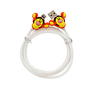 Disney Tiger  Charging Cable For Iphone 5G/5S/5C/6/6PLUS Ipad Air 2 Ipad Mini
