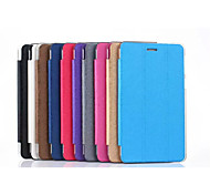 "Ultra Thin PU Leather Stand Cover, Transparent Inner Protective Case  7"" For Asus  Fonepad 7(FE171MG) (Assorted Color)"