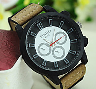Men's European Style Fashion Canvas Outdoor Watches