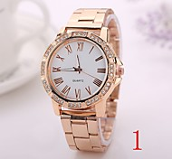 2015 Watch Women Fashion Silver Gold Rose Gold Color Steel Watch Band Watches Geneva Watches Men Luxury Brand  XR1260