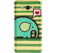 Love elephant  Pattern TPU Soft Case for Galaxy A8