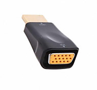 cwxuan ™ High Speed ​​HDMI v1.4 male naar vga vrouwelijke video converter adapter