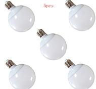 12W E26/E27 LED Kugelbirnen G95 30 SMD 5630 1200 lm Warmes Weiß / Kühles Weiß Dekorativ AC 220-240 V 5 Stück