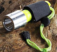 Torce LED / Torce LED 3 Modo 1600 Lumens Cree XM-L T6 18650Campeggio/Escursionismo/Speleologia / Uso quotidiano / Immersione/Nautica /