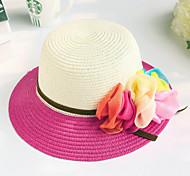Children's Fashion Spell Color Flower Princess Hat Sunscreen Floppy Hat
