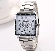 Frau Kleid Uhren Genf brandneuen Ankunft Legierungsband Herrenuhr Kinderuhren Armbanduhren Stahl watchxr1124