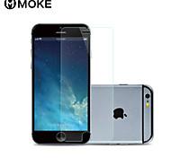 Moke anti-impronta con panno per la pulizia dello schermo in vetro temperato di protezione per iPhone 6 4.7
