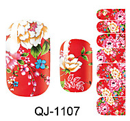 Beautiful Flower Fairy Nail Art Stickers