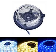 Ding Yao 5 M 60/m 5050 SMD Branco Quente/Branco/RGB/Vermelho/Amarelo/Azul 50 W Faixas de Luzes RGB DC12 V