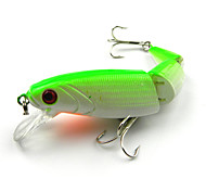 Anmuka Minnow 4pc Jointed Fishing Lures 10.5CM 14G 6# Hooks Fishing Tackle Pesca Fish Bait Hard  Wobbler Random Color