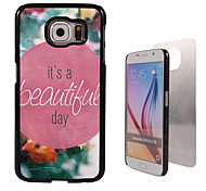 It's A Beautiful Day Design Aluminum High Quality Case for Samsung Galaxy S6 Edge G925F