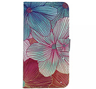 Flowers Pattern With Diamond Phone Case For iPhone 6 Plus