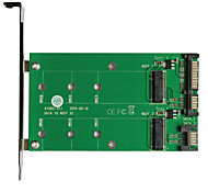 Maiwo USB3.0 2x SATA TO2x M.2 (NGFF)Card Interface Card KT005A