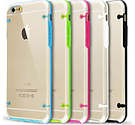 For iPhone 7 Ultra Transparent Glow in Dark Case for iPhone 6s 6 Plus