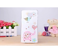The Elephant Pattern TPU Soft Case for Samsung Galaxy Note 5
