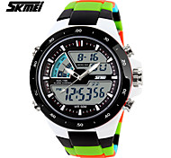 SKMEI Man and Women's Fashion Electronics Luminous Multi-function Outdoor Sports Watch Rubber Band Gift (more colors)