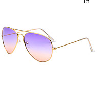 Sunglasses Men / Women / Unisex's Fashion Flyer Silver / Gold Sunglasses Full-Rim
