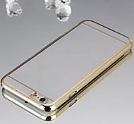 delgada materiales de chapado transparentes cáscara protectora del teléfono escultura radio adecuado para iPhone6 (color clasificado)