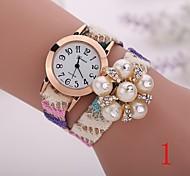 2015  New Fashion  Women Watches Gold Wristwatch Ladies Quartz Watches Geneva   Flower  Bracelet XR1264