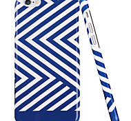ESR® Beat Series Scratch-Resistant Perfect Fit Hard Back Case with Blue and White Stripes Pattern for iPhone 6