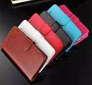 Multicolor PU Leather Phone Case For iPhone 6 (Assorted Colors)
