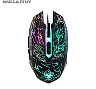 wellrui r9 emittierende Gaming-Maus