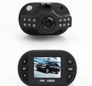 Hot Sale Mini Black Box 1.5'' TFT Full HD 1080P Car Dvr Camcorder With 12-LED IR Night Vision