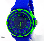 Unisex   Watch Fashion Sports Casual Collocation Clothing Silicone Watch