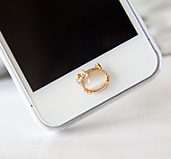 Opal Zircon Home Button Sticker for iPhone(Assorted Color)