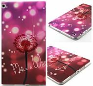 Dandelion Pattern Soft TUP Case for iPad mini 3, iPad mini 2, iPad mini