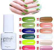 Sequins UV Color Gel Nail Polish No.85-96 (5ml, Assorted Colors)
