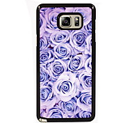Rose Design Slim Metal Back Case for Samsung Galaxy Note 3/Note 4/Note 5/Note 5 edge
