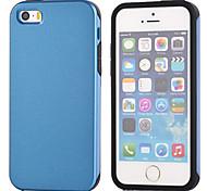 multicolor delgado tres Mobile Shell para el iphone 5 / 5s (colores surtidos)
