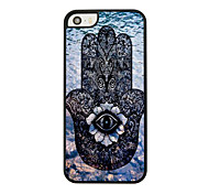 Totems Leder Venenmuster Hard Case für iPhone 5/5 s