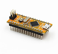 New nano V3.0 Module ATMEGA328P-AU Improved Version for Arduino - Yellow