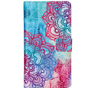 Sunflower Pattern PU leather phone Case For Huawei P8 Lite