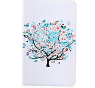 Baum stilvolle gemalt flache Leder für Samsung Tab s2 Registerkarte 9.7 / Galaxie s2 8,0