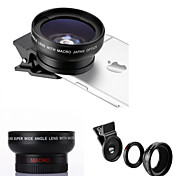 Universal Professional HD Camera Lens 0.45X Super Wide Angle Lens + 12.5X Macro Len for Samsung and Mobile Phones