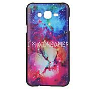 ordinateur pc étoiles cas matériau de téléphone pour Samsung Galaxy J5 J7