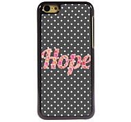 espoir design en aluminium cas de haute qualité pour iPhone 5c