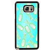 Pineapple Design Slim Metal Back Case for Samsung Galaxy Note 3/Note 4/Note 5/Note 5 edge