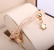 Fashion Wire Mesh Crystal Bracelet