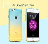 Moshuo™ Gradually Changing Color  Back Cover for iPhone 6S Plus/6 Plus (Assorted Colors)